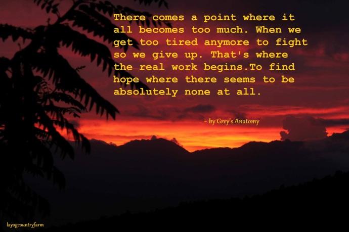 Sunset 1 - Hope